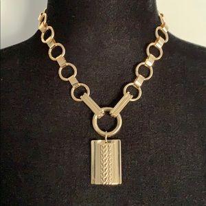 Gold tone Dannijo necklace